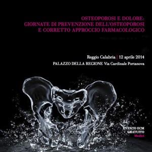 Brochure Osteoporosi Reggio Calabria