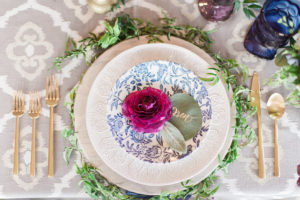 Colorful BoHo Chic_Lucas Rossi_table setting